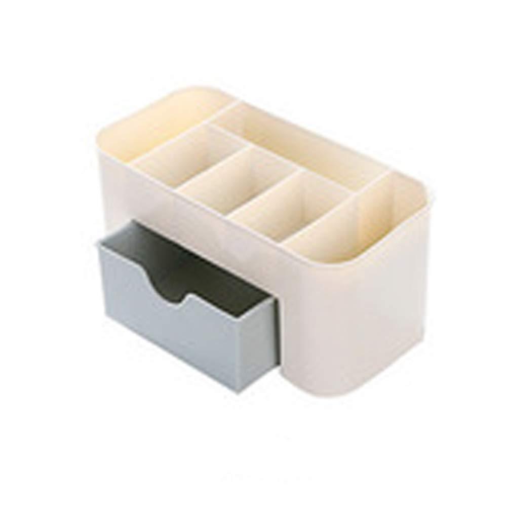 RHVG Multi-Color Cosmetics Storage Box, Desk Surface Debris Storage Storage Box, Jewelry Finishing Box, Beauty Storage Box, Beautiful Storage Box, Exquisite Essential Oil Storage Box,-Blue