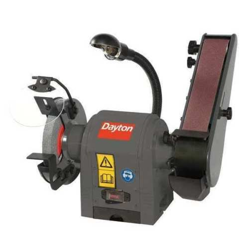 DAYTON 49H006 Combination Belt and Bench Grinder, 120V by LA BOVA
