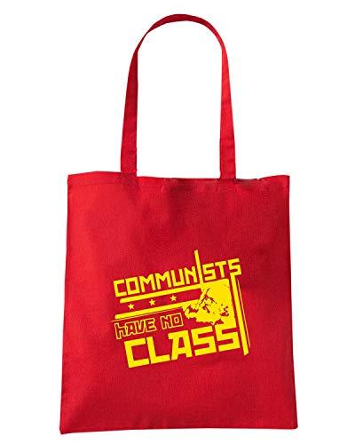 Speed Shirt Borsa Shopper Rossa FUN1033 COMMUNISTS FULLPIC ARTWORK (3)
