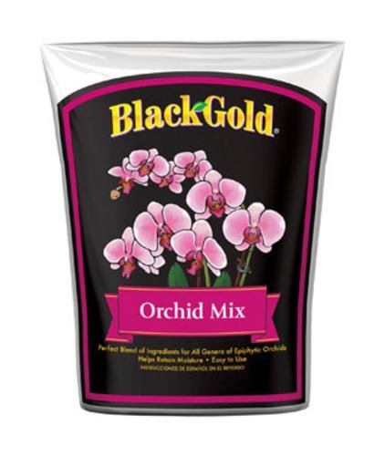Black Gold 1411402 8.00QTP 8 Quart Fine Orchid Bark Mix - Orchid Fir Bark