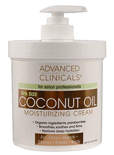 Crema De Coco Para El Cuerpo Organico Natural - Restaura La Hidratación Profunda De Tu Piel Y Cuerpo - Crema Hidratante Para Piel Reseca - 16 Onzas ()