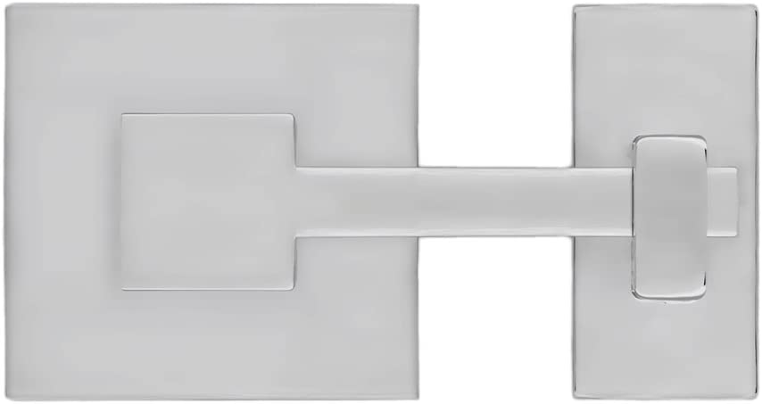 "Rhombus 1"" Square Cabinet Latch-Polished Nickel"