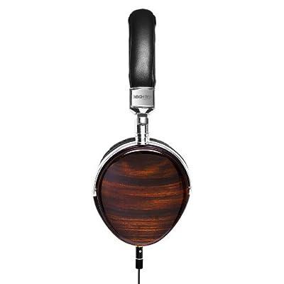 3EIGHTY5 ETZ Wood Headphones with Mic - Mahogany