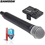 Samson Go Mic Mobile Digital Wireless System with Q8 Dynamic Handheld Mic/Transmitter with Extended Warranty Bundle