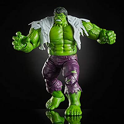 Hasbro Marvel Legends Wolverine and Hulk 6-Inch Action Figure 2-Pac Standard: Toys & Games