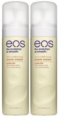 EOS Ultra Moisturizing Shave Cream, Vanilla Bliss - 7 oz - 2 pk