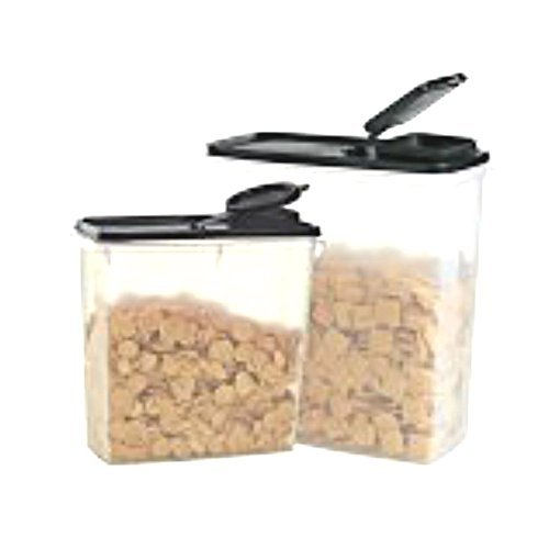 Tupperware Cereal - Tupperware Cereal Keepers Modular Mate Duo Set Storer Airtight Canister Container Pour Spout Lid