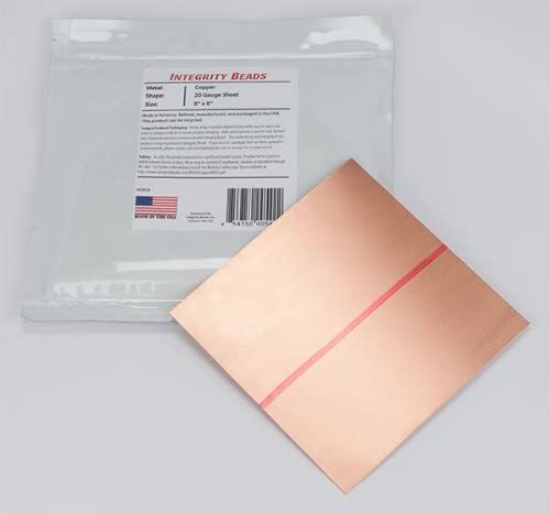 Copper 20 Gauge Max 61% OFF Sheet Bombing new work 6