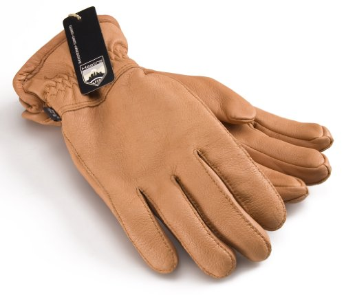 Hestra Luxury Deerskin Winter Lined Leather Gloves # 2028 - Cork by Hestra