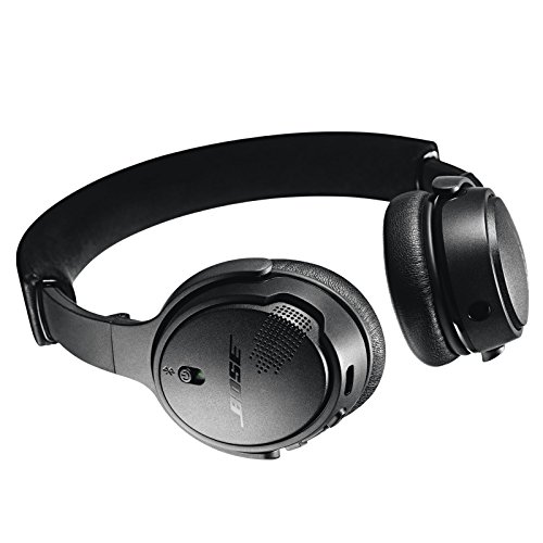 Bose SoundLink On-Ear Bluetooth Headphones with Microphone, Triple Black