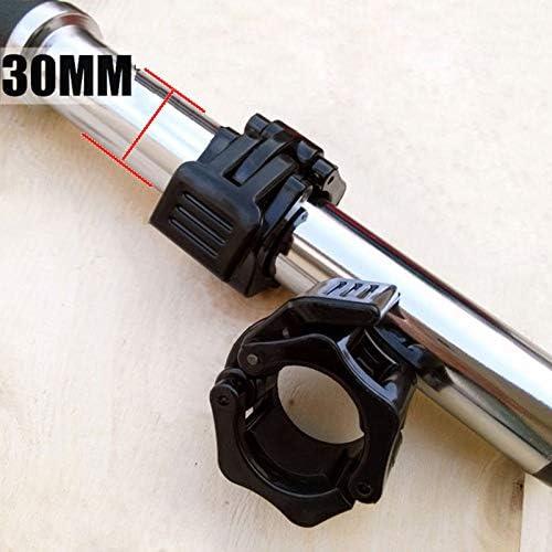 IKAAR Hantelverschl/üsse Hantelstangen Verschluss Barbell Halsb/änder 30 mm Barbell Collar f/ür 30mm Olympic Bar 1 Paar