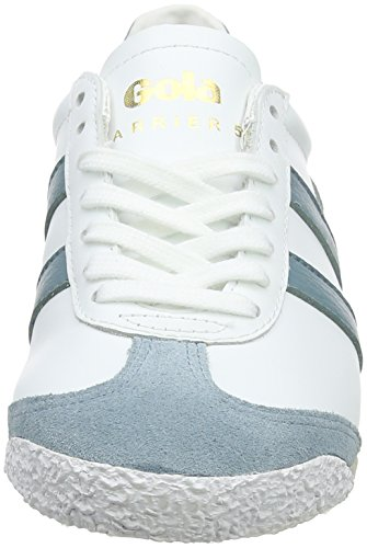 Bianco Sneaker Leather Gola Harrier White Blue Xe sky Blue Donna 50 sky white 1xgqOBH