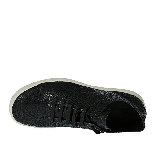RICK OWENS Sneaker Nera Effetto Rilievo - 40