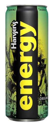 Hansen's Natural Energy, Original, 8.3 Ounce Cans (Pack of 12)