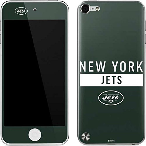 Skinit NFL New York Jets iPod Touch (5th Gen&2012) Skin - New York Jets Green Performance Series Design - Ultra Thin, Lightweight Vinyl Decal Protection (New York Skin Jets Ipod)