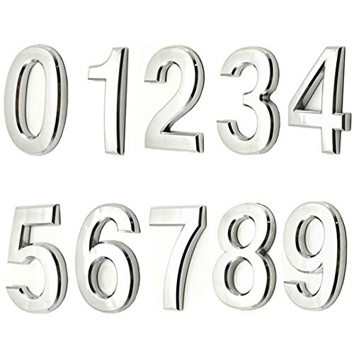 "Big 6/""  Foam Numbers BMX Number Plate Numbers 0-9 Set NEW!"