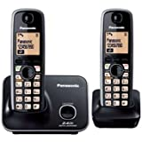 Panasonic KX-TG3712 Cordless Phone (Black)