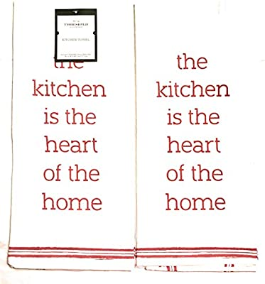 Enjoyable Threshold Flour Sack Towels 2 Towels The Kitchen Is The Home Interior And Landscaping Eliaenasavecom