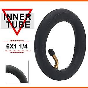 AnXin 6 x 1 1/4 Tubo Interior para Patinete eléctrico y de ...