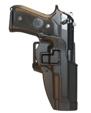 BlackHawk CQC SERPA Belt Holster Right Hand Black Taurus 24/7 Belt Loop and Paddle - 410529BK-R