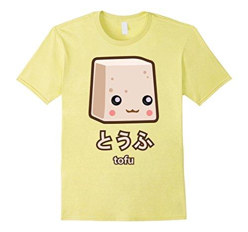 Men's Tofu T-Shirt Large Lemon