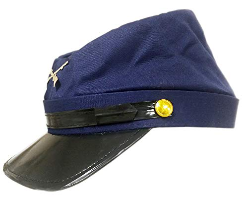 X-Large Cotton Civil War Union Blue Replica Kepi Hat