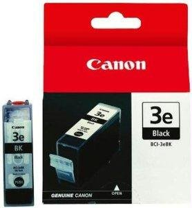 - Brand New Canon Usa Bci-3Ebk - Ink Tank - Black - 420 Pages 5% Coverage - For Ip5000ip4000rip400