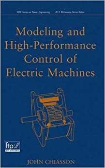 Book Electric Machines (IEEE Press Series on Power Engineering)
