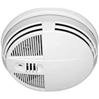 KJB Security Products SC7100HD Xtreme Life 720p HD Indoor Night Vision Side View Smoke Detector Hidden Camera with DVR