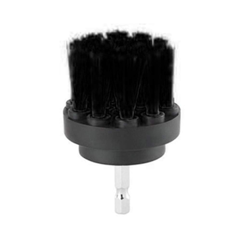 Aviat Durable Electric Drill Brush Auger Brush Drill Attachment Kit Grout Power Scrubber Brush for Pool Tile/Flooring/Tub Cleaner Tool