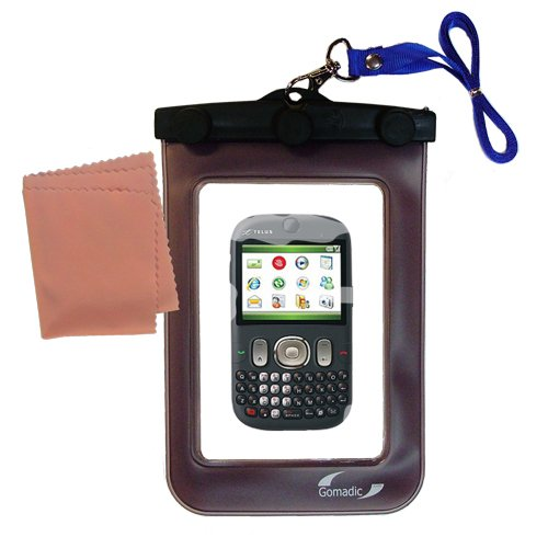 (outdoor Gomadic waterproof carrying case suitable for the HTC CDMA PDA Phone to use underwater - keeps device clean and dry)