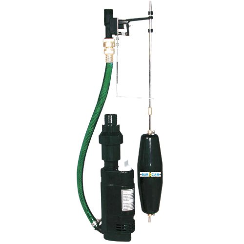 BurCam 300402  ''Sump Buddy'' Submersible Back Up Municipal Water Sump Pump, 581 GPH Max by Bur-Cam