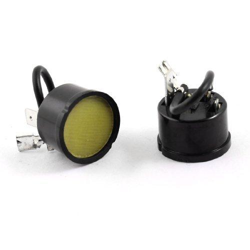 DealMux Runde 1//3 HP K/ühlschrank /Überlastung W/ärmeschutz-Relais Starter 2Pcs