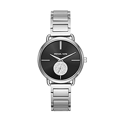 Michael Kors Watches Portia Stainless-Steel Two-Hand Sub-Eye Watch from Michael Kors Watches