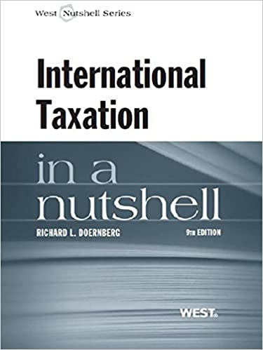 Doernbergs international taxation in a nutshell 9th kindle doernbergs international taxation in a nutshell 9th 9th edition kindle edition fandeluxe Images
