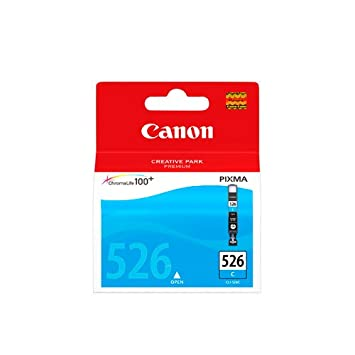 Canon CLI 526C - Ink tank - 1 x cyan: Amazon.co.uk: Office Products