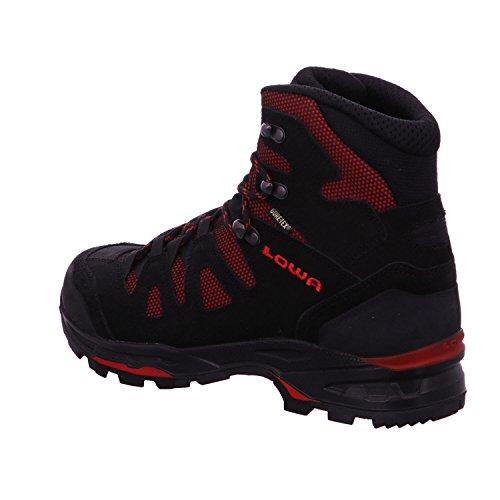 Zapatillas de deporte de Lowa GmbH, II GTX KHUMBU, negro/rojo blanco / rojo