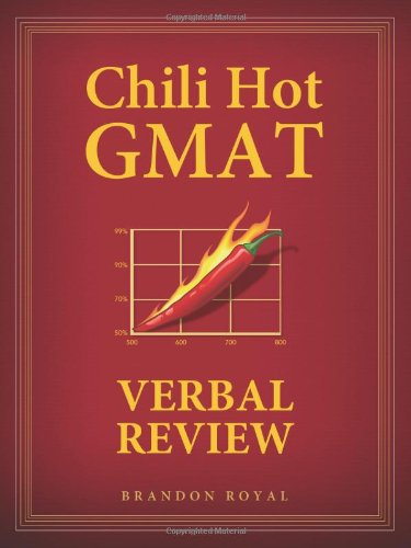 Chili Hot GMAT Verbal Review by Maven Publishing