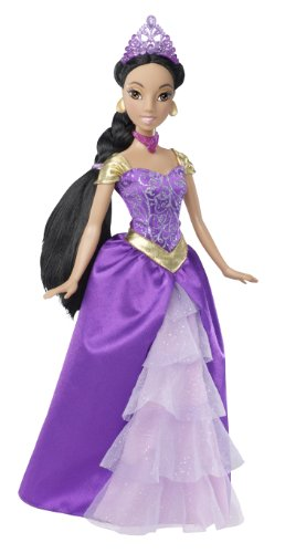 Disney Princess Sparkling Princess Jasmine Doll - 2011 -