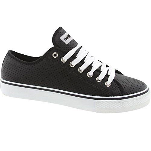 Le Centinaia Mens Valenzuela Low Top (nero)