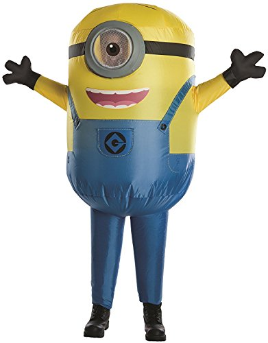 The Best Ever Halloween Costumes (Despicable Me Minion Stuart Inflatable Child Costume)