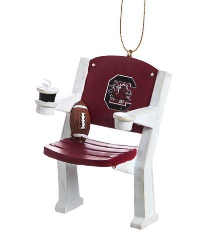 South Carolina Gamecocks Official NCAA 4 inch x 3 inch Stadium Seat Ornament by Fans With Pride by Fans With Pride