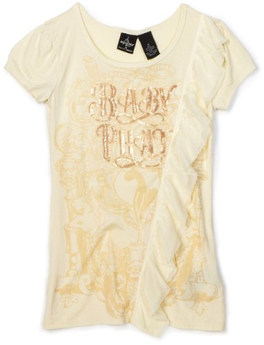 Baby Phat Big Girls' Layer Ruffle Top