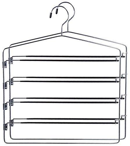 Chrome Swing Arm Slack Hanger (Set of 2)