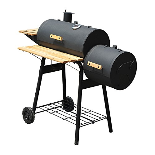 NUMBERNINE, 48'' BBQ Grill Charcoal Barbecue Patio Backyard Home Meat Cooker Smoker,charcoal yakitori grill by NUMBERNINE