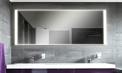Bagno specchio con illuminazione mnj1l4: design specchio per bagno