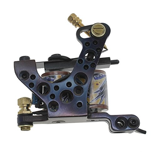 Redscorpion cast iron tattoo machine gun handmade coil
