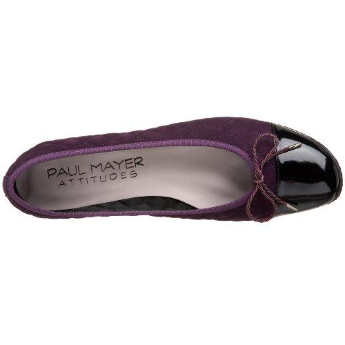 Paul Mayer/Attitudes Womens Cozy Flat Black/Lambarda OdzYHnpaW