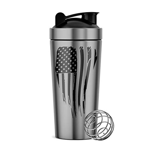 - Tactical Pro Supply Stainless Steel Water Bottle (Stainless Steel Flag)