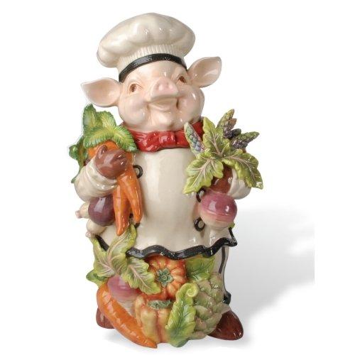 Bistro Couchon Chef Pig Cookie Jar (Chef Cookie Jar)
